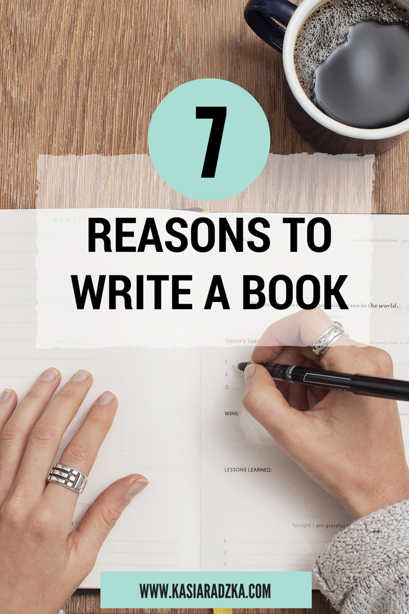 Reasons to write a book